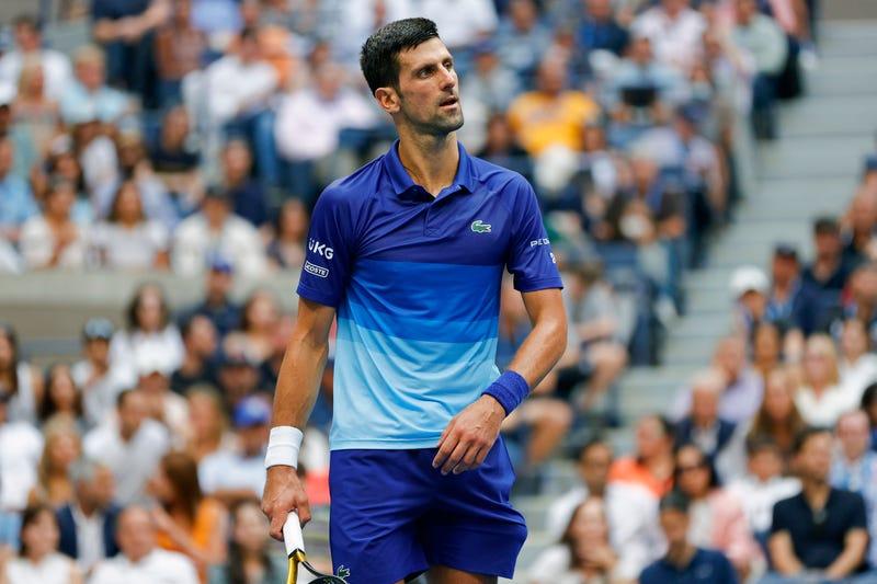 Tennis star Novak Djokovic.