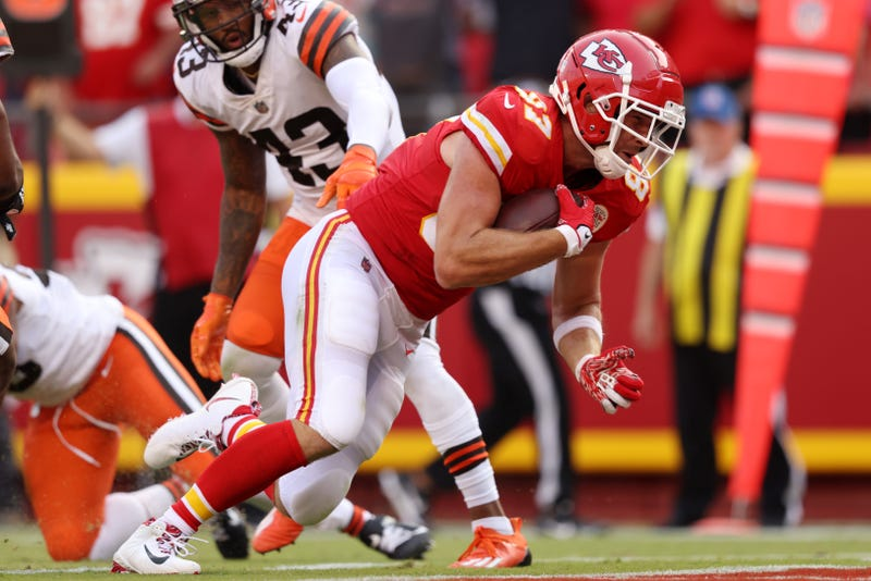 Chiefs tight end Travis Kelce.