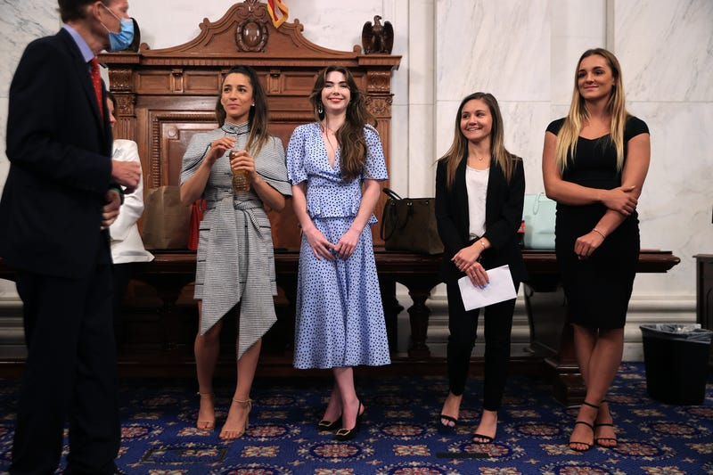 Gymnasts sexually assaulted by Larry Nassar
