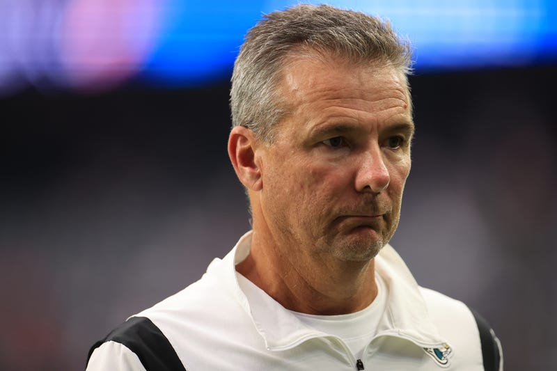 Jaguars head coach Urban Meyer.