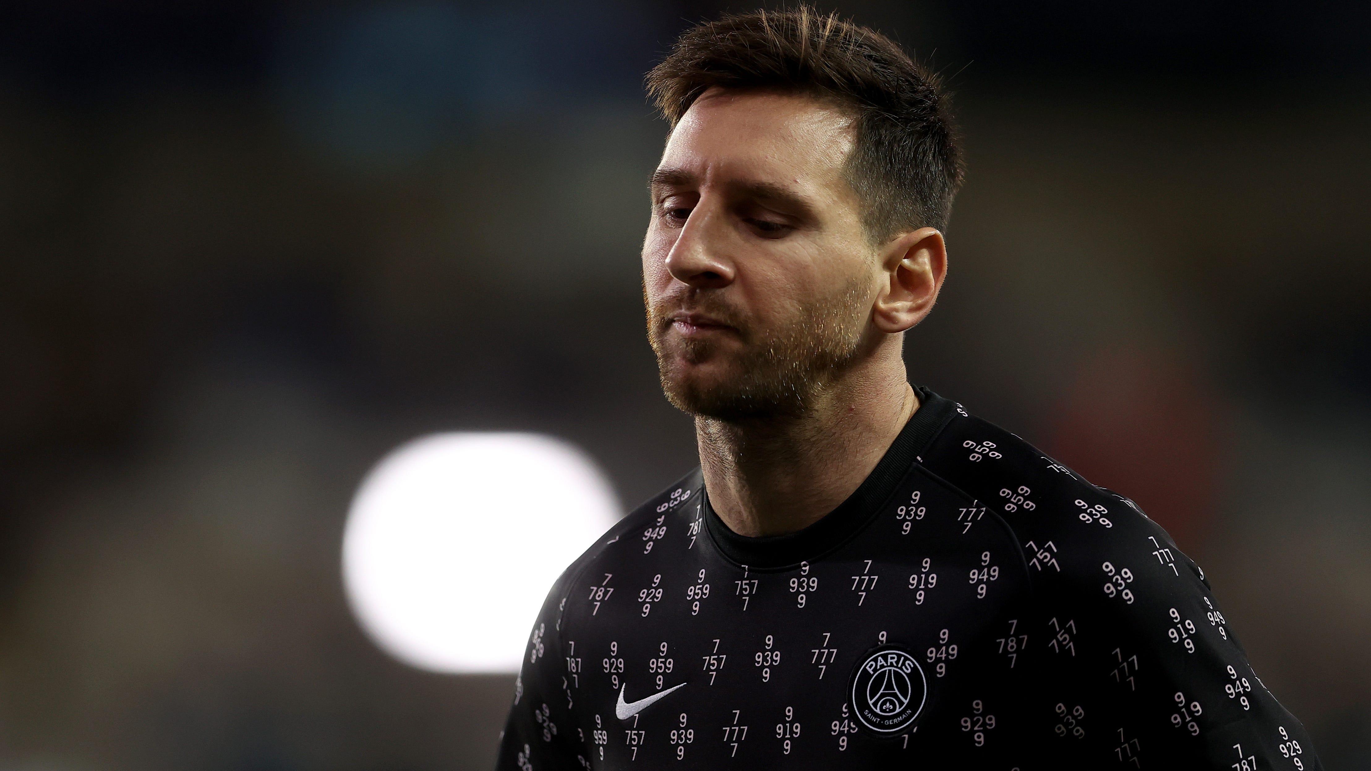 Parte médico de Messi confirma lesión y se perderá el encuentro contra el Metz