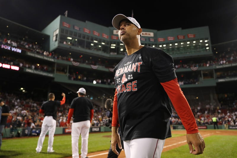 Red Sox manager Alex Cora.