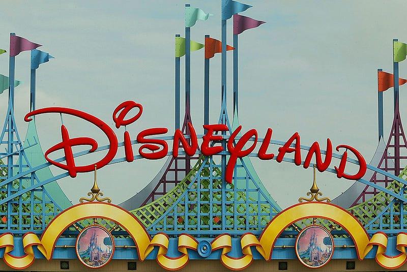 he entrance of Disneyland Paris is shown August 22, 2002 in Marne la Vallee, France
