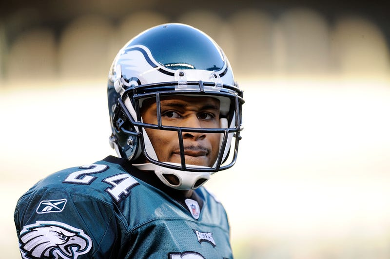 Nnamdi Asomugha spent two seasons with the Eagles.