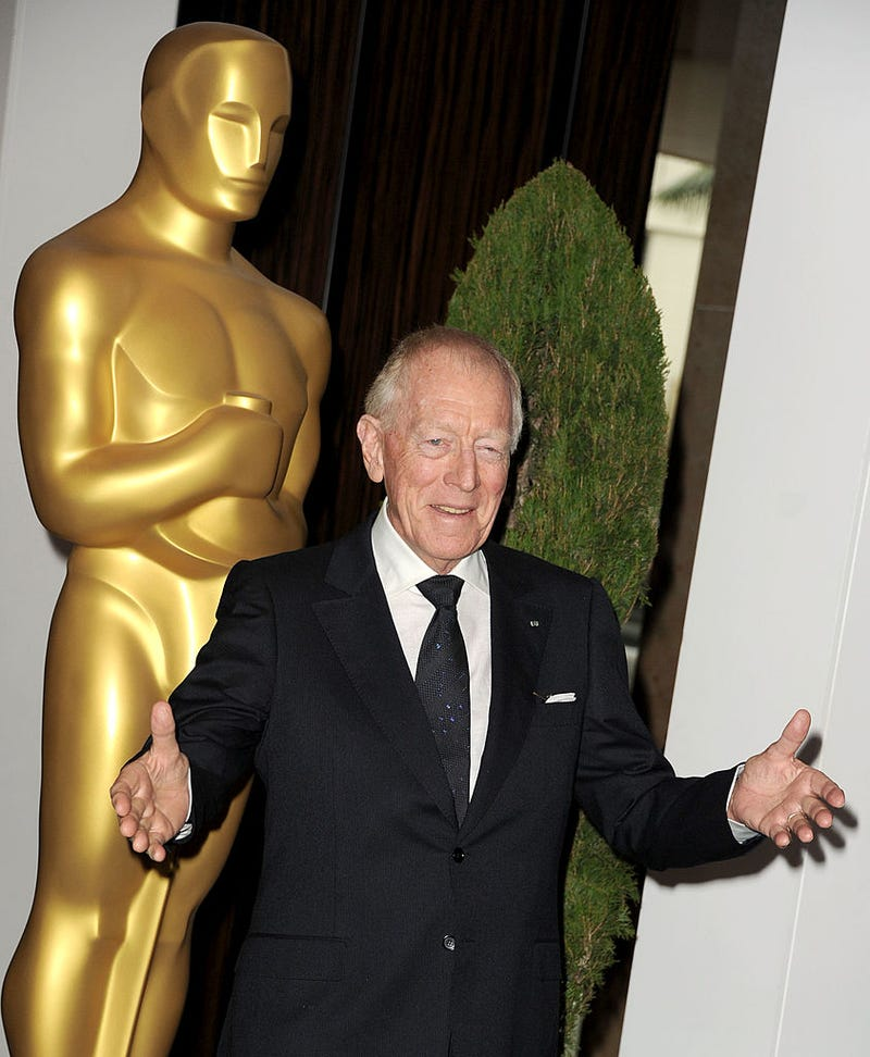 von sydow at the 84th Academy Awards