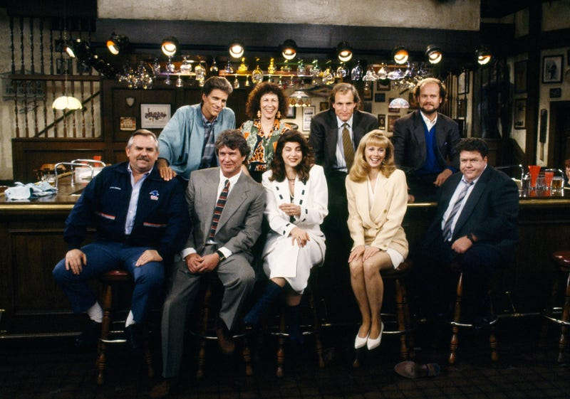 "The cast of ""Cheers"""