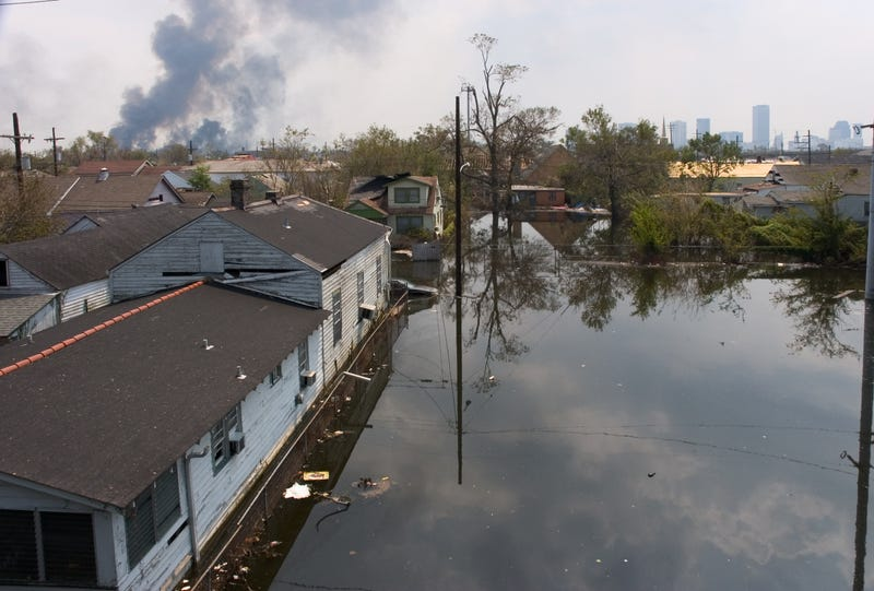 flooding caused by levee breach