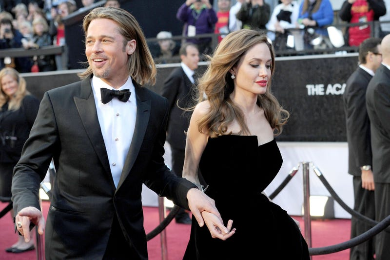 brad pitt at the 2012 oscar awards
