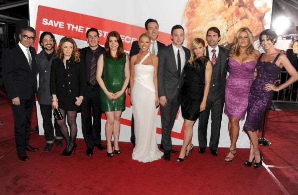 'American Pie' reunion is heading to sitcom 'Outmatched.'