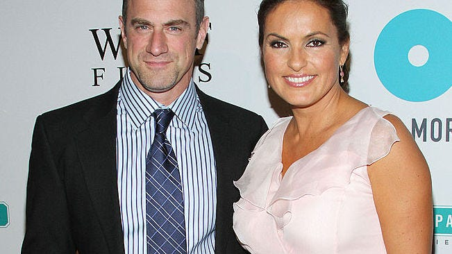 Christopher Meloni warns 'there's going to be a riot' when 'Law & Order' fans see what's next for Stabler and Benson