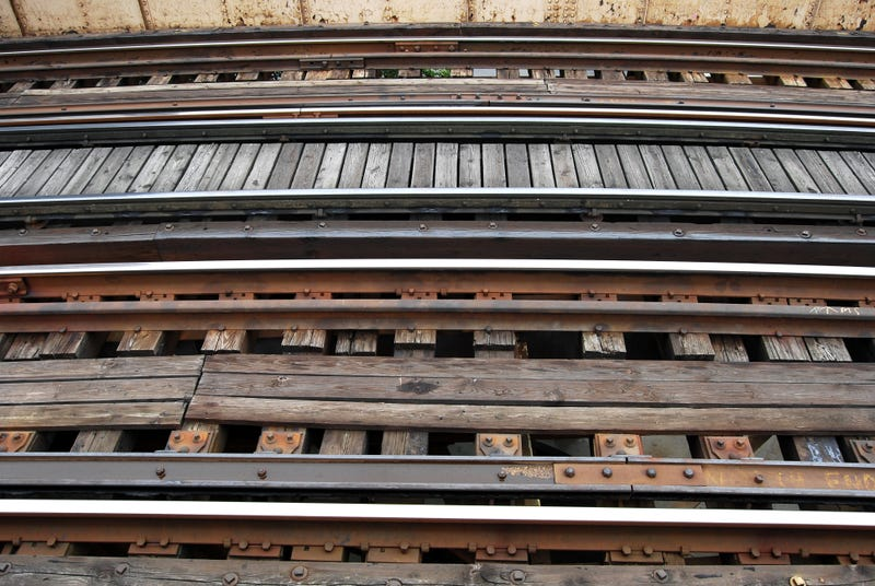 CTA train tracks
