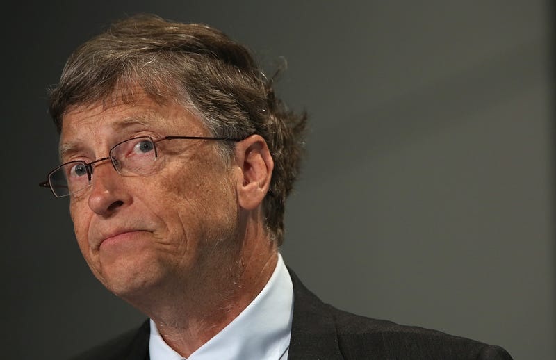 bill gates makes knowing face