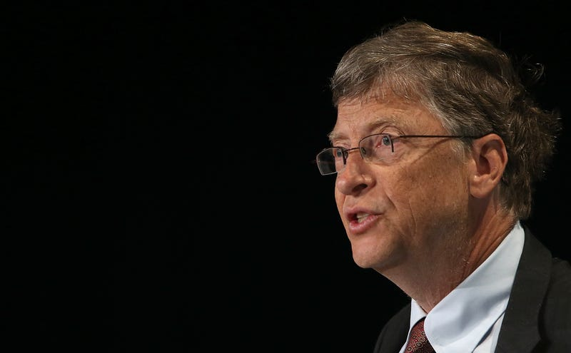 bill gates looks serious