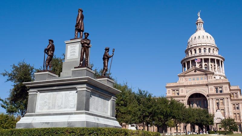 Texas State Capitol, Confederate Monument