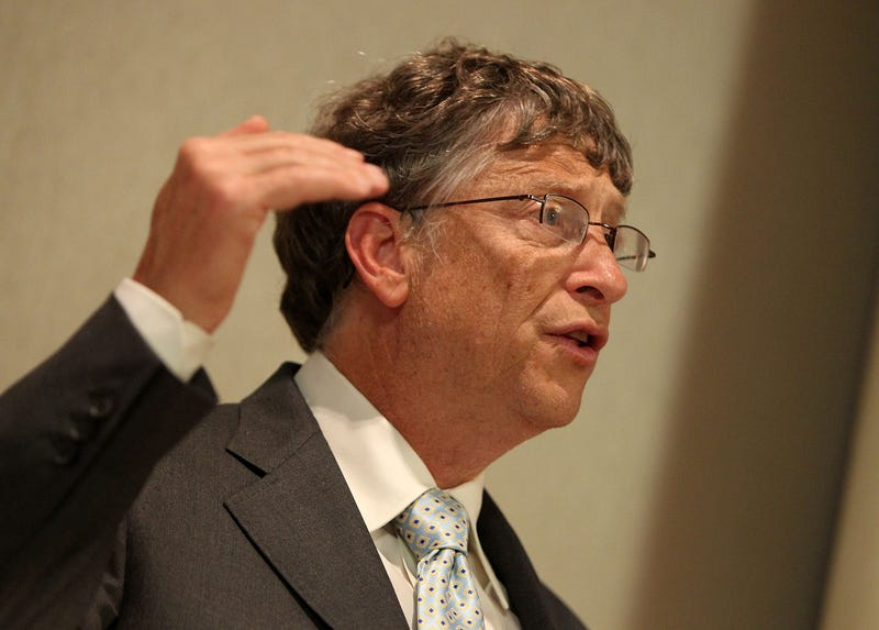 bill gates imparting lessons