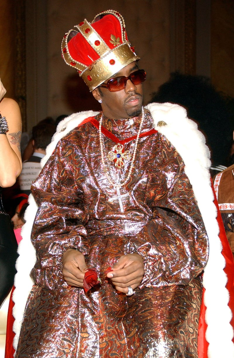 diddy as a king for halloween