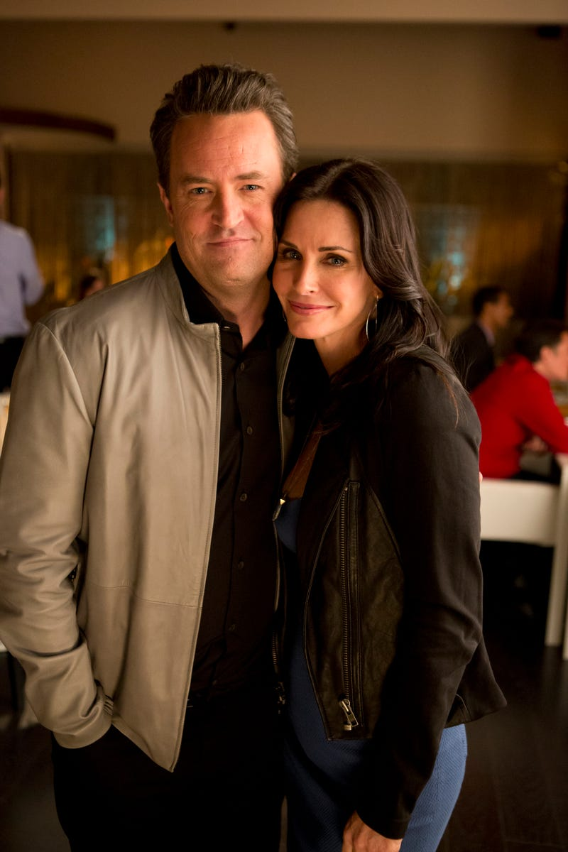 matthew perry and courteney cox on go on 2013