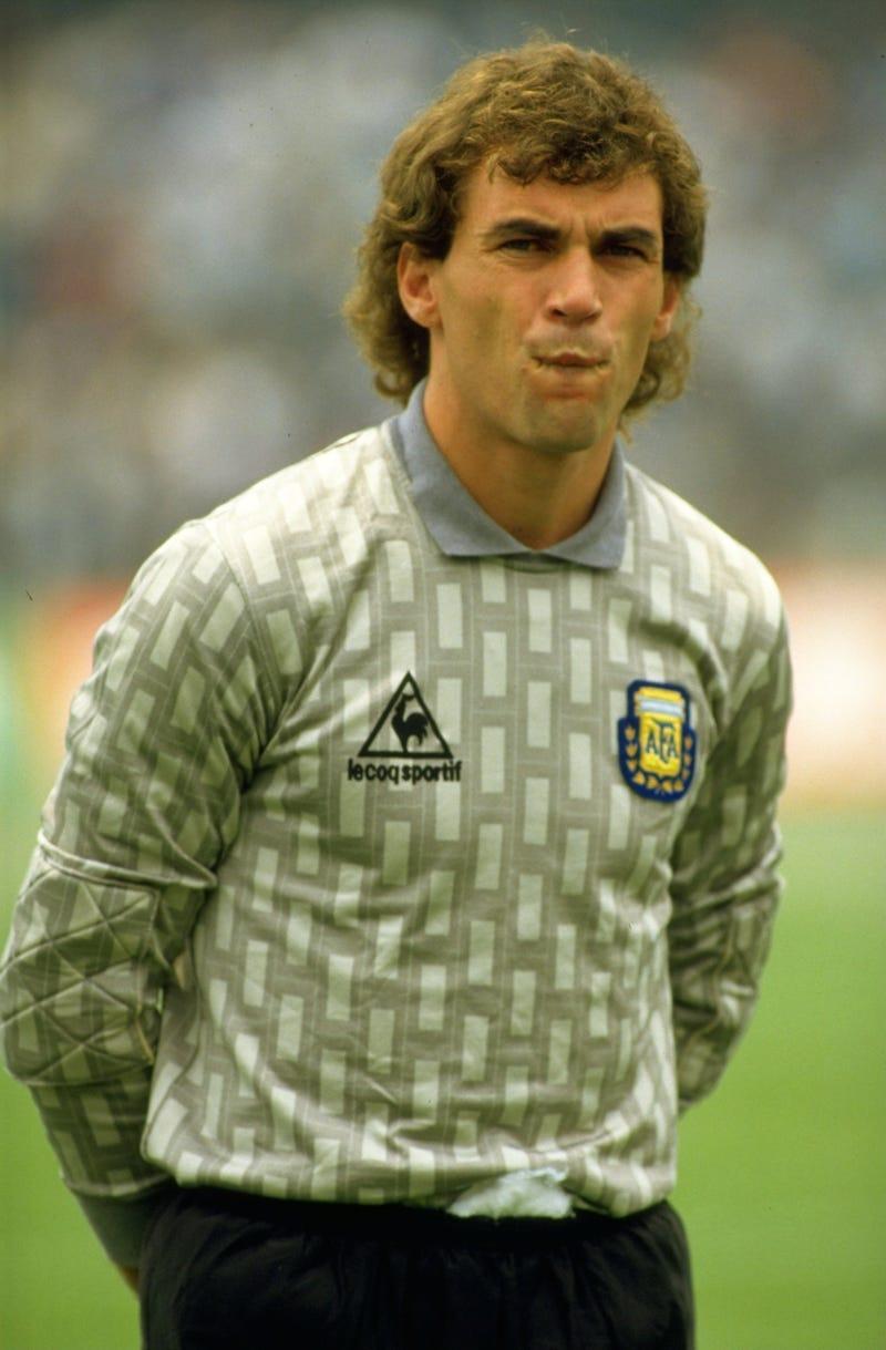 Portero de la Seleccion de Argentina 1986