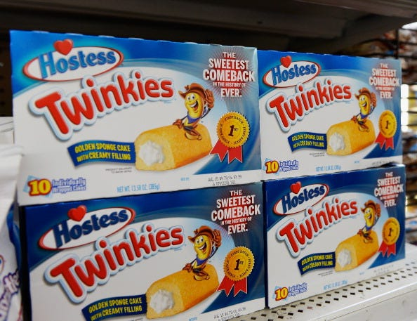 Hostess is partnering with Post for a Twinkies cereal.