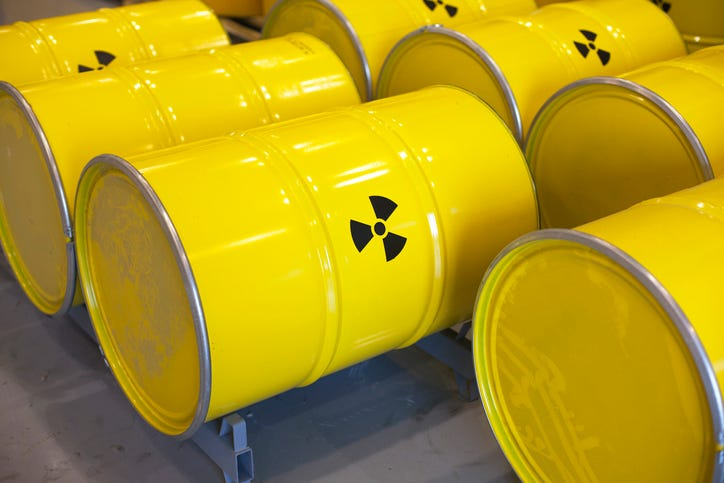Feds approve nuclear waste storage site in west Texas