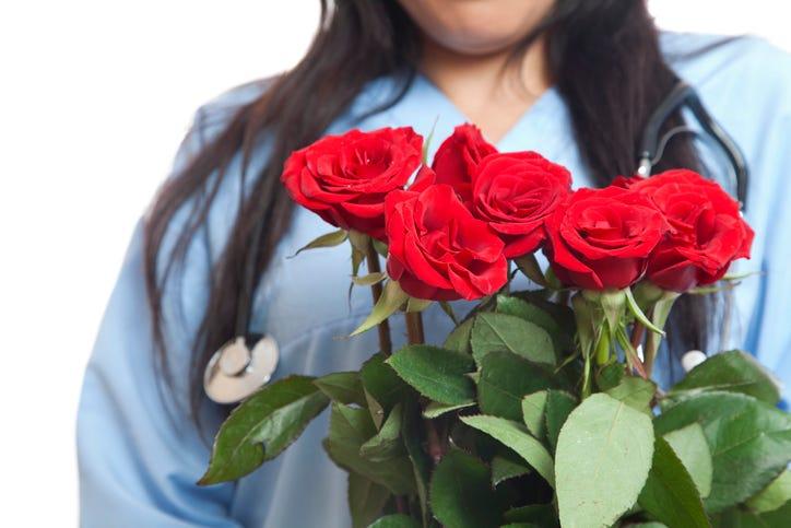 nurse flowers
