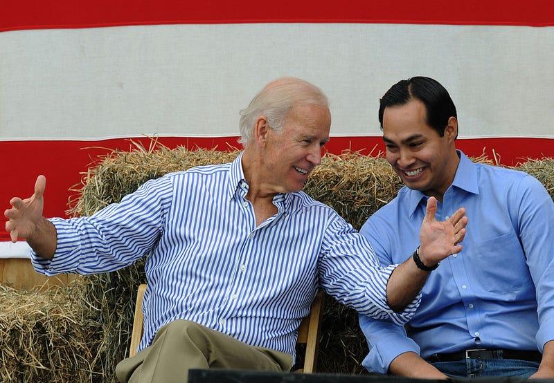 Joe Biden y Julián Castro
