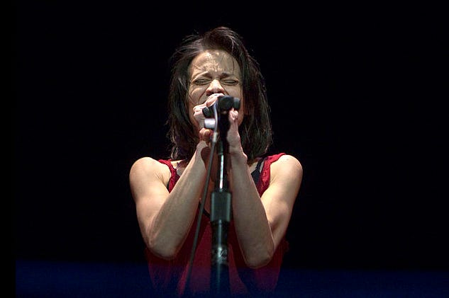 Fiona Apple performs at Newmark Theater