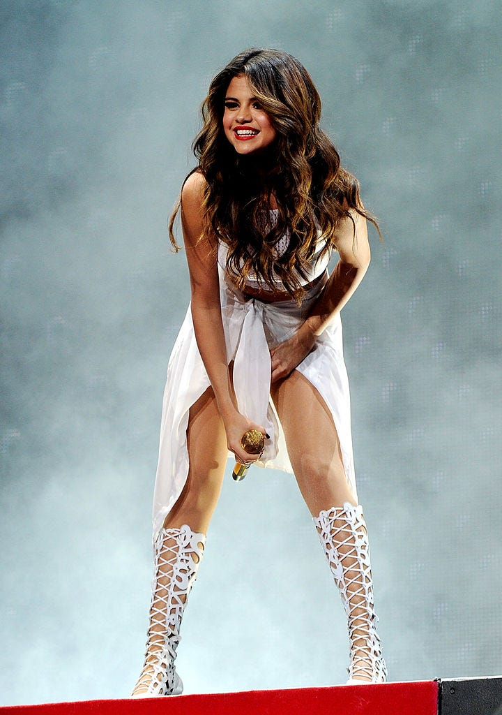 Performing at the Staples Center, 2013