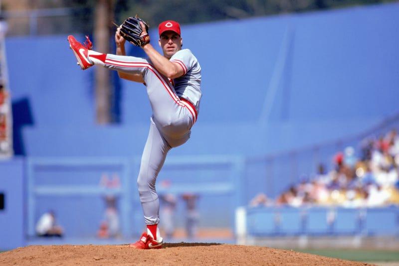 Former major league pitcher Rob Dibble.