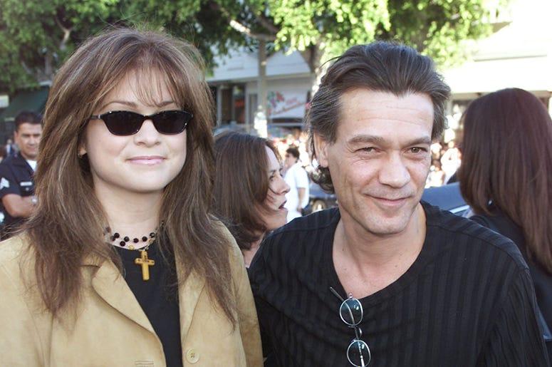 Valerie Bertinelli and Eddie Van Halen (2001)