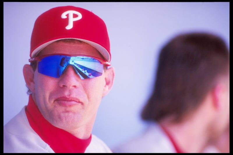 Lenny Dykstra finished runner-up to Barry Bonds in National League MVP voting in 1993.