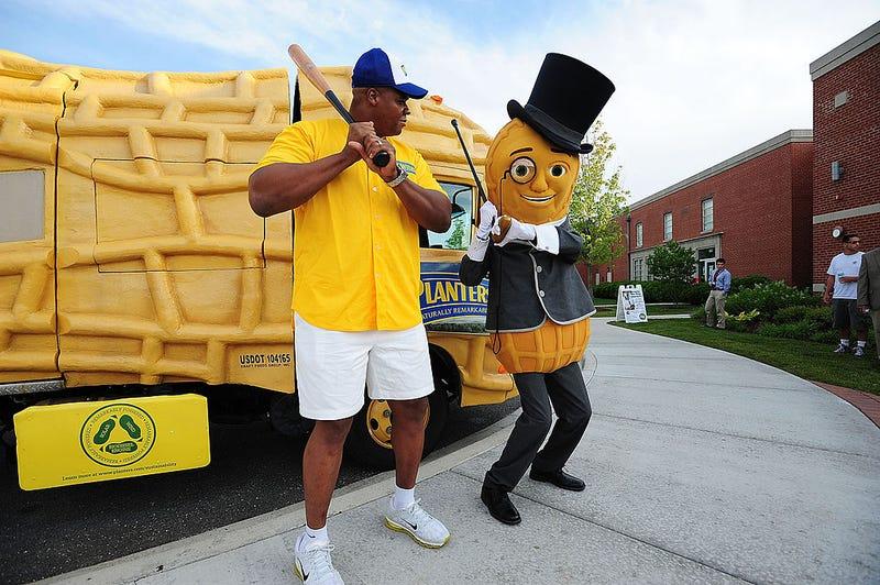 Mr. Peanut & Frank Thomas