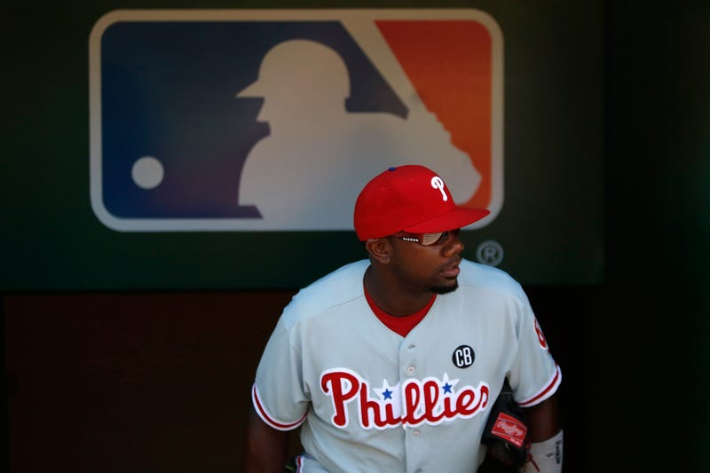 Ryan Howard struggled with injuries at the end of his career.
