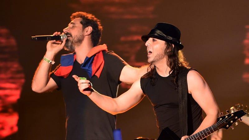 Serj Tankian and Daron Malakian of System of a Down