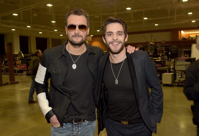 Eric Church and Thomas Rhett