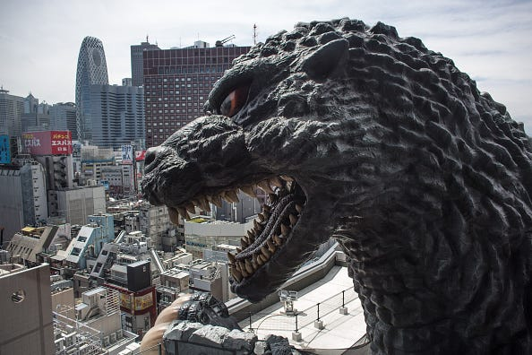 A 'Life-Size' Godzilla Theme Park Attraction Is Opening Next Year