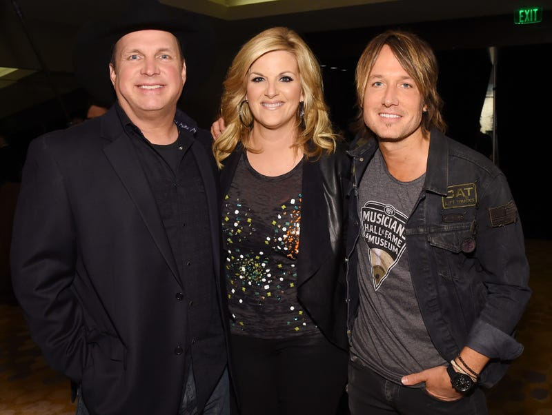 Garth Brooks, Trisha Yearwood and Keith Urban