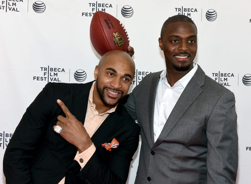 David Tyree and Plaxico Burress