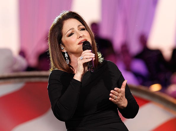 Gloria Estefan performs at the 26th National Memorial Day Concert on May 24, 2015 in Washington, DC.
