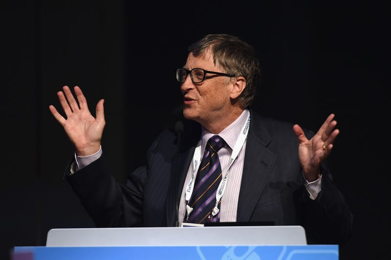 bill gates gets cheeky on stage