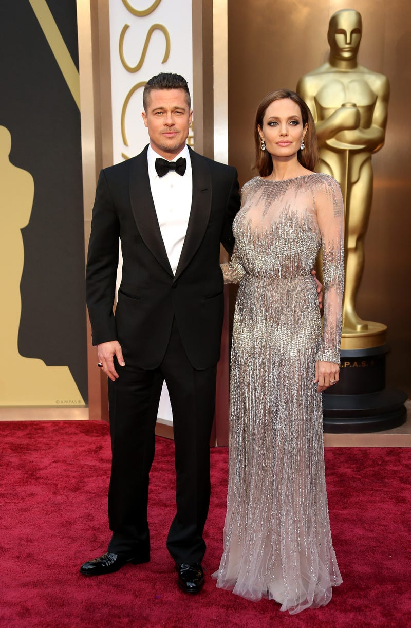 brad pitt and angelina jolie at 2014 oscars