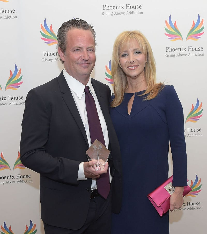 matthew perry and lisa kudrow 2015