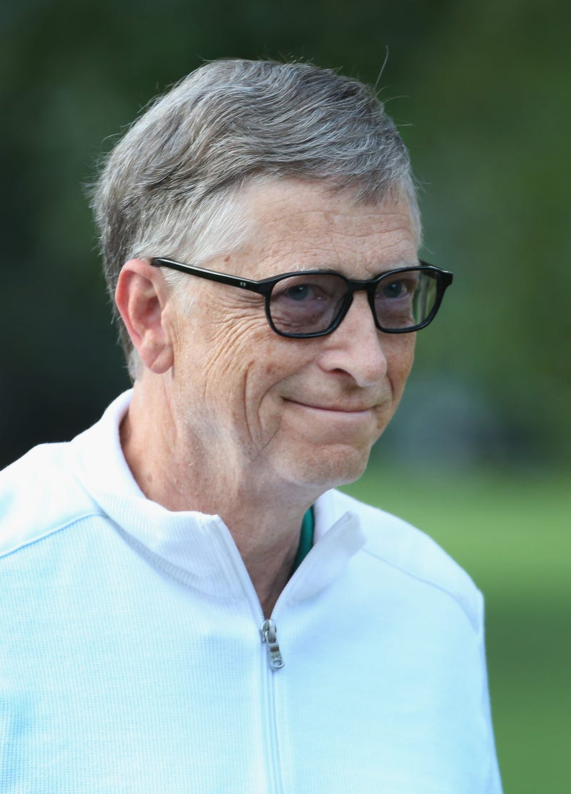 bill gates smirking