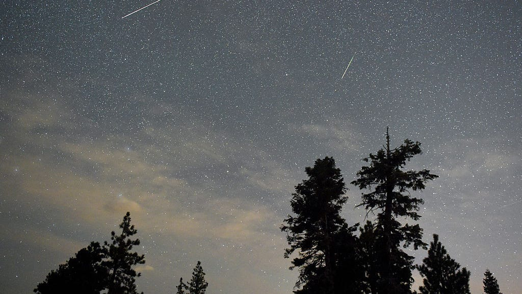 Look up! Up to 75 meteors an hour could streak across the sky Wednesday through Friday