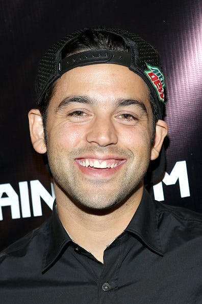 Professional skateboarder and actor Paul Rodriguez
