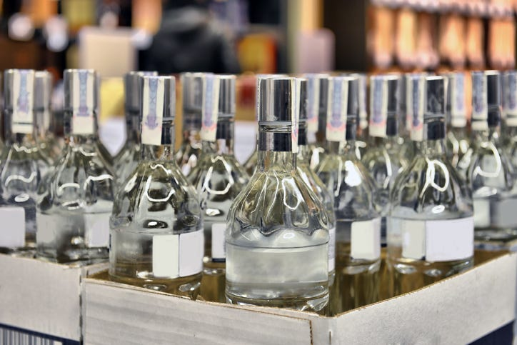 illegal liquor shipments to Michigan
