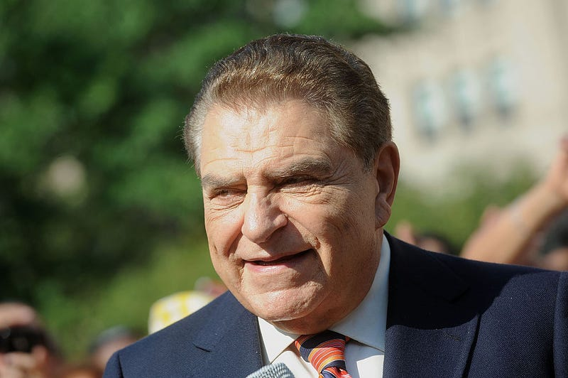 "Television personality Mario Kreutzberger also know as Don Francisco attends New York City Co-Name's Street ""Don Francisco Blvd"" In Honor Of ""Sabado Gigante's"" Iconic Host"