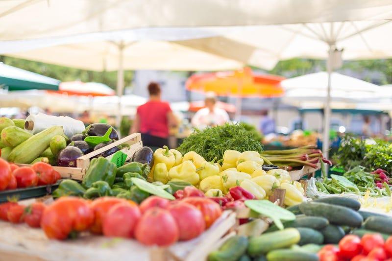 Yummy produce at the market