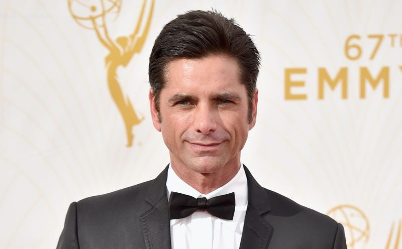 Actor John Stamos attends the 67th Emmy Awards at Microsoft Theater