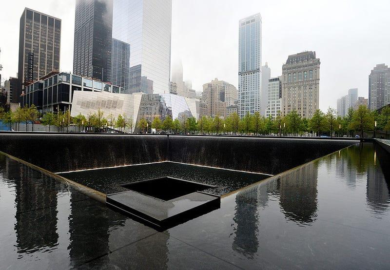 Piscina reflectance del World Trade Center Memorial en la ciudad de Nuava york